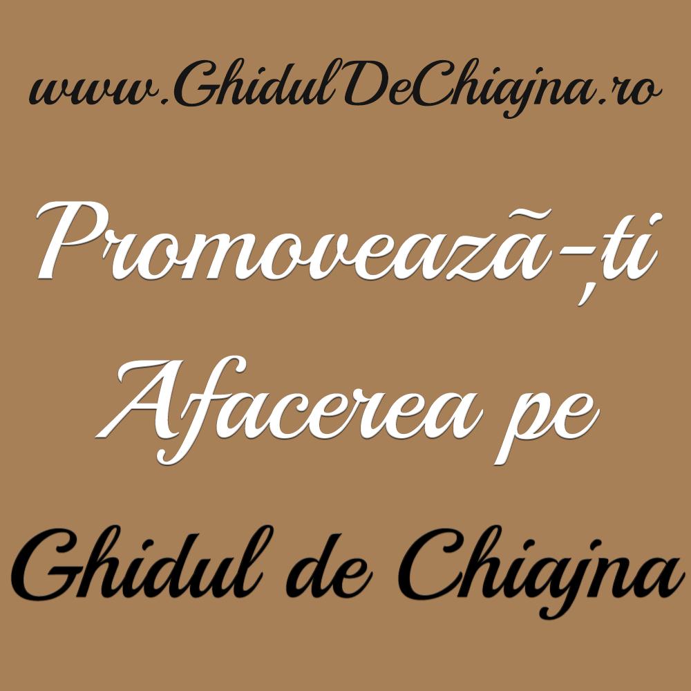 Promovează-ți afacerea pe Ghidul de Chiajna. Împreună pentru Comunitate!